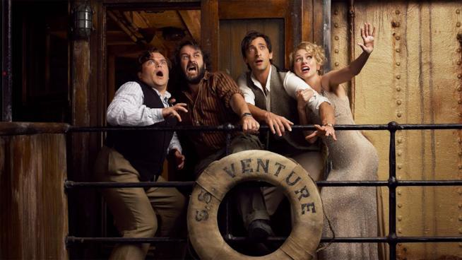 Peter Jackson posa assieme al cast di king Kong