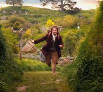 Martin Freeman nei panni di Bilbo