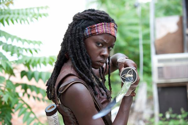 Michonne interpretata da Danai Gurira