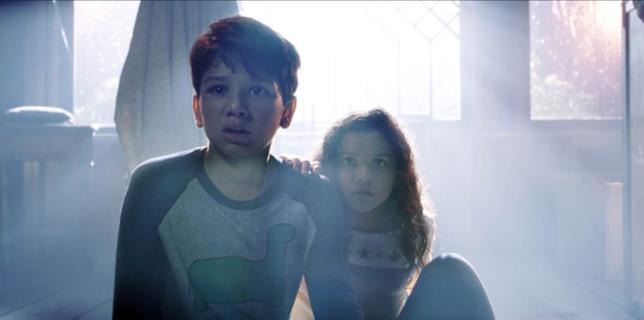 I due bambini protagonisti di La Llorona - Le lacrime del male