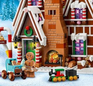 La meravigliosa casa di pan di zenzero di LEGO