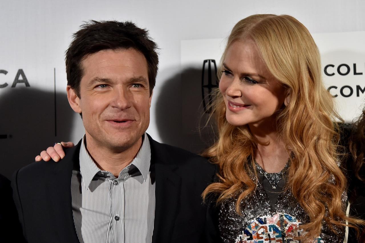 Nicole Kidman e Jason Bateman alla prima del film La Famiglia Fang al Tribeca film Festival