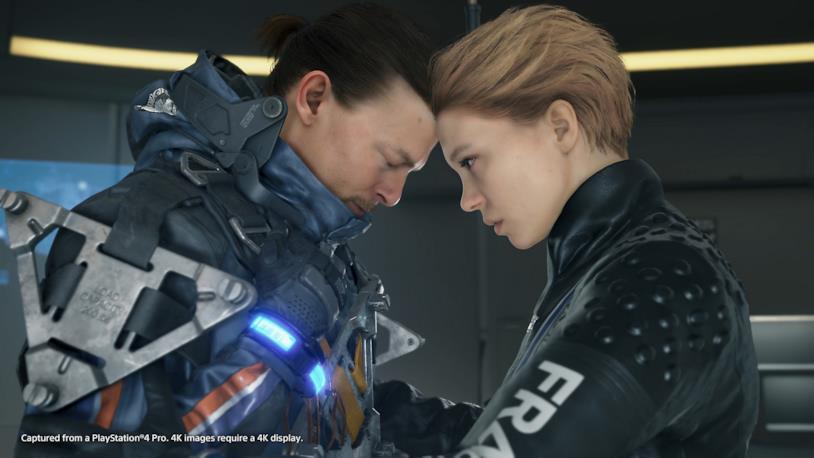 Uno screenshot dal videogioco Death Stranding