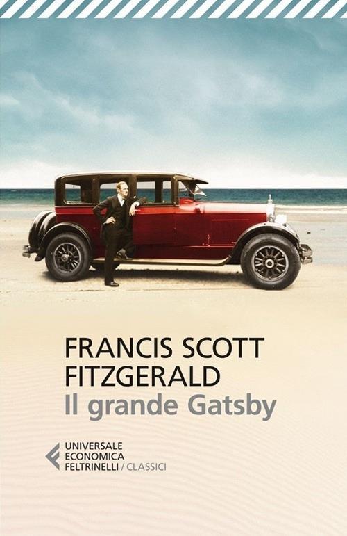 La copertina del romanzo Il grande Gatsby