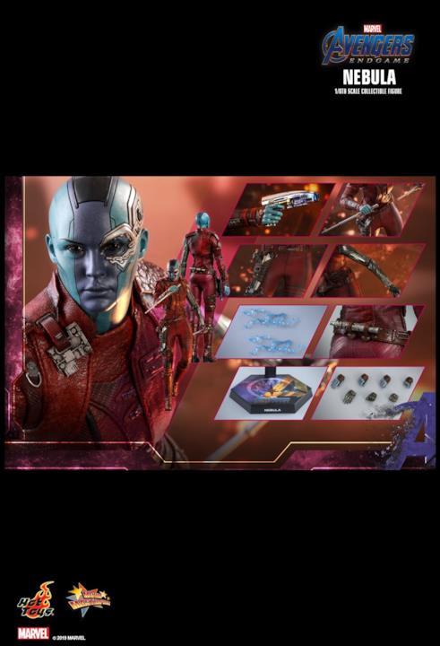 Avengers: Endgame, l'action figure di Nebula di Hot Toys