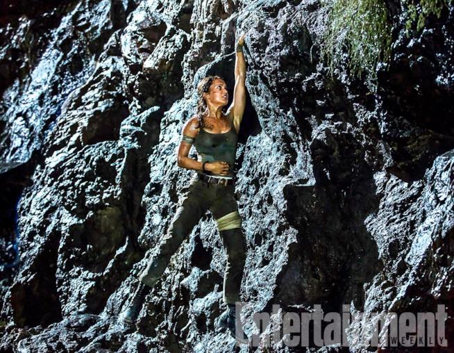 Alicia Vikander nei panni di Lara Croft nel reboot del franchise Tomb Raider