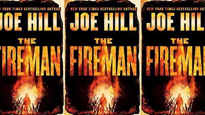 La copertina di The Fireman di Joe Hill