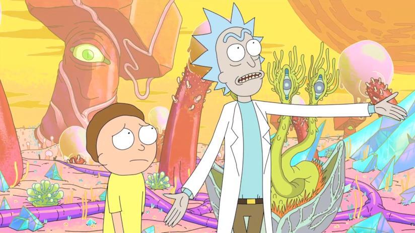 I protagonisti della serie in una scena della prima stagione