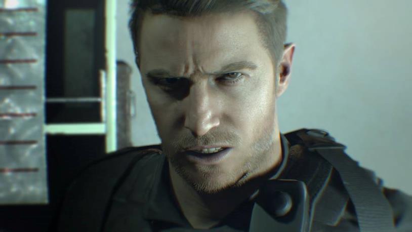 Chris Redfileld nel DLC ''Not a Hero''