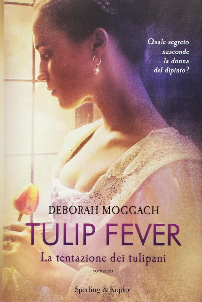 La copertina movie tie-in di Tulip Fever