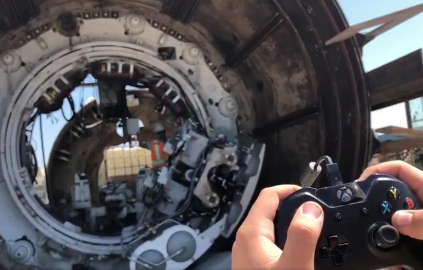 Il controller Xbox utilizzato da The Boring Company