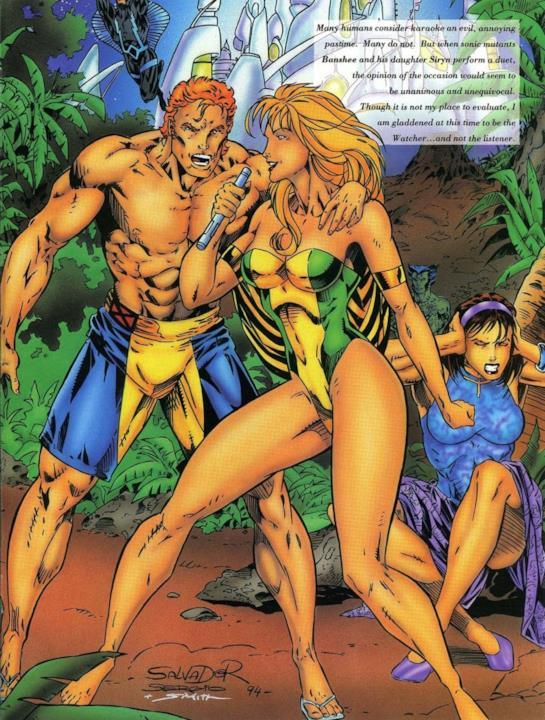 Marvel Swimsuit Special: Bashee e sua figlia Syrin