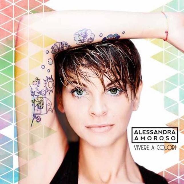 L'ultimo album di Alessandra Amoroso è Vivere a colori
