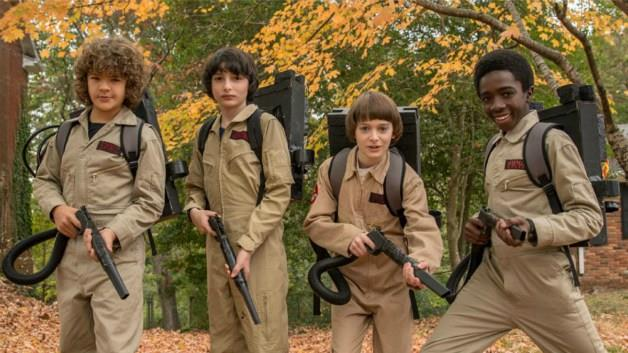 I protagonisti di Stranger Things in versione Ghostbusters