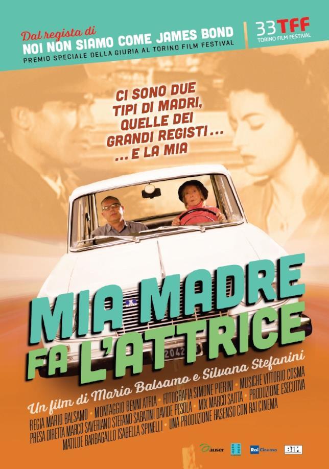 Mia Madre Fa l'Attrice il poster del film di Mario Balsamo