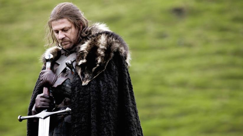 Sean Bean è Ned Stark in Game of Thrones