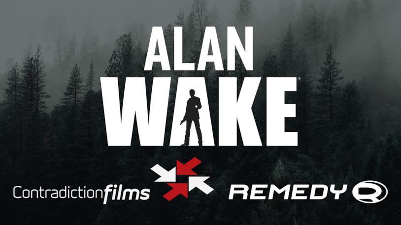 Il logo dell'annuncio della serie TV di Alan Wake