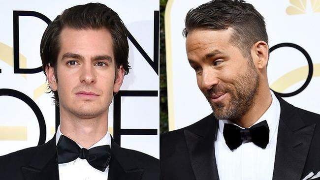 Andrew Garfield e Ryan Reynolds