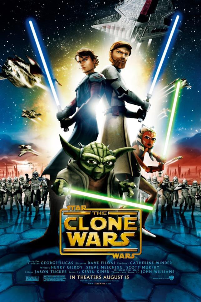 Poster di The Clone Wars