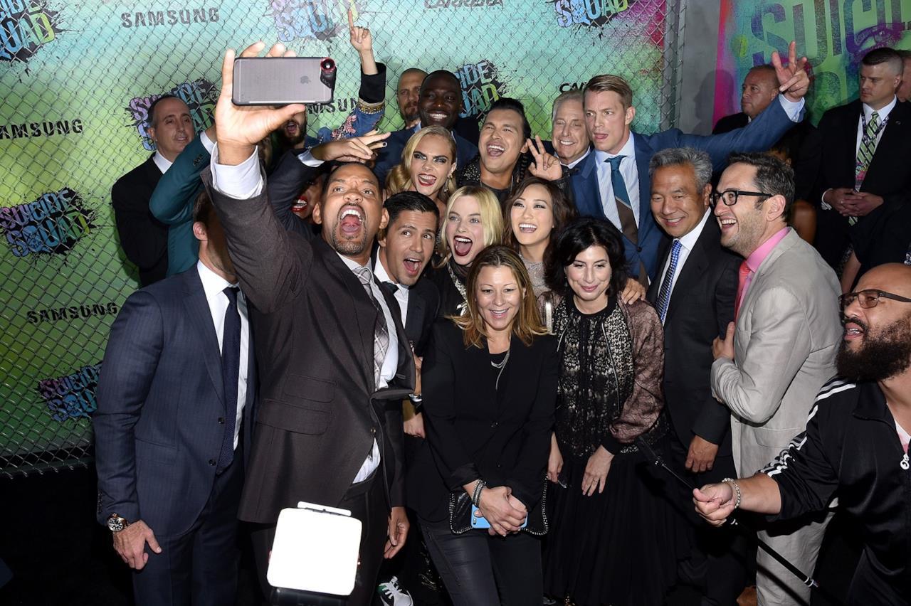 Tutto il cast di Suicide Squad alla prima del film