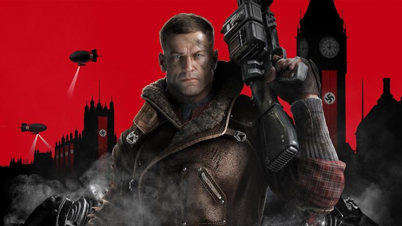 Il protagonista di Wolfenstein II: The New Colossus