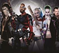 Un primo piano del cast di Suicide Squad, diretto da David Ayer.