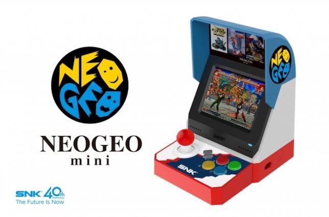 SNK presenta il Neo Geo Mini