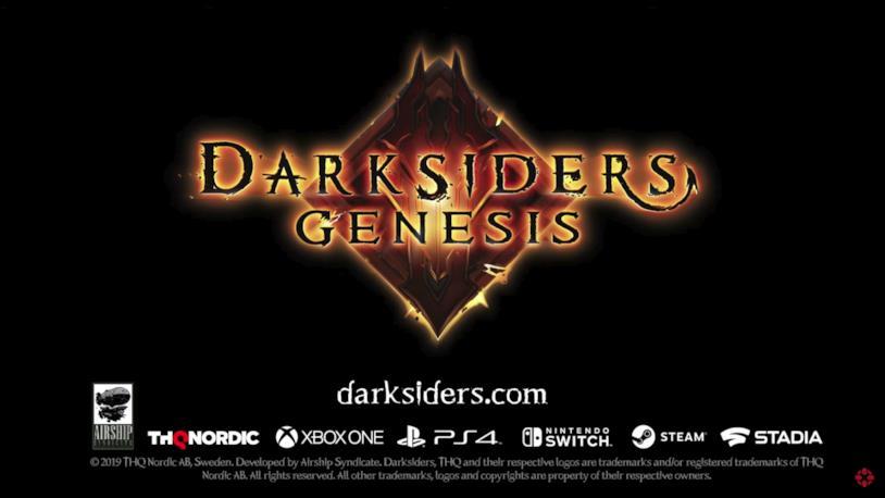 Darksiders Genesis uscirà nel 2019 anche su Google Stadia