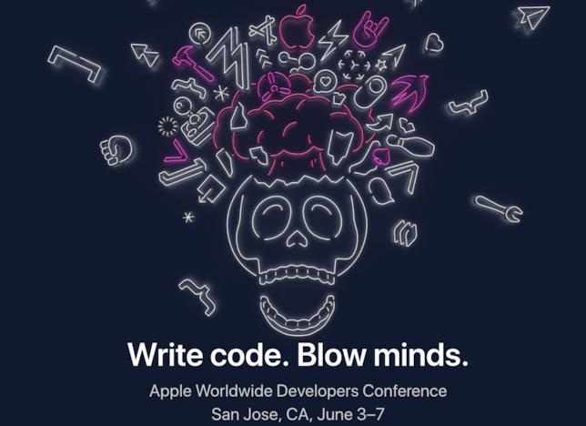 Banner di Apple per la WWDC2019 di giugno