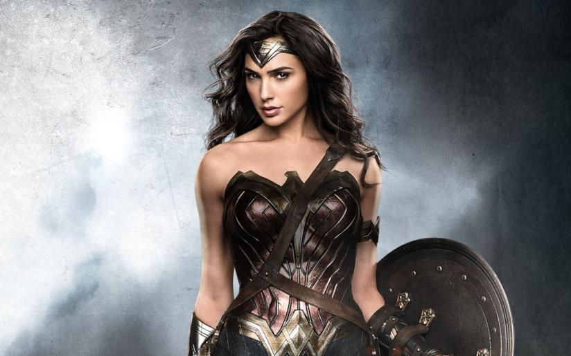 Una foto di Gal Gadot nei panni di Wonder Woman