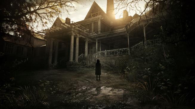 La criptica bambina nella cover di Resident Evil 7