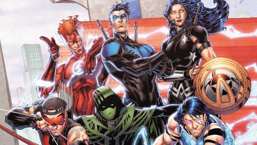 Titans: i supereroi dei fumetti dell'universo DC Comics