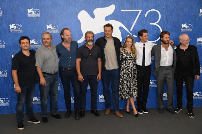 Il cast di Hacksaw Ridge a Venezia 73
