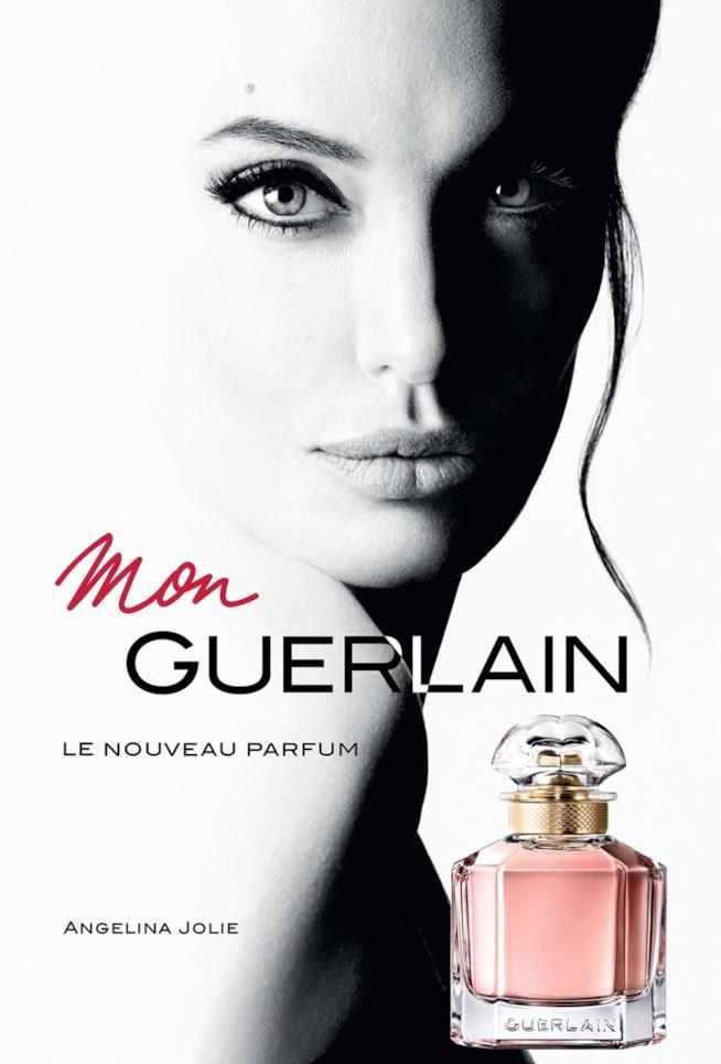 La campagna di Mon Guerlain con Angelina Jolie
