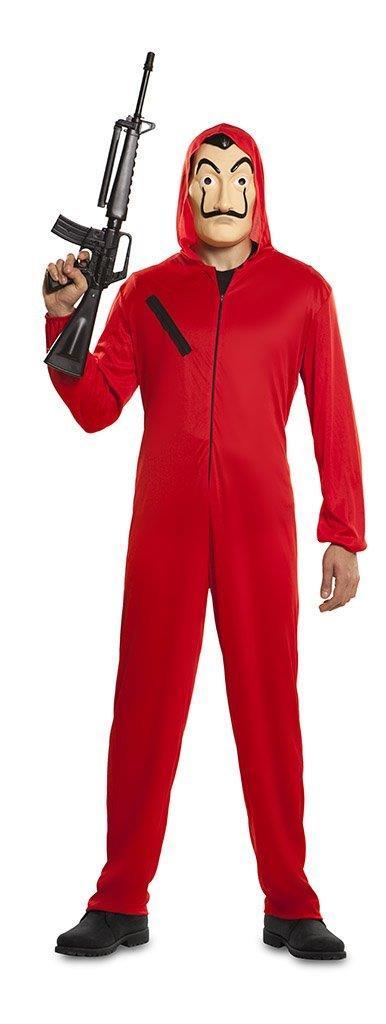 Il costume da rapinatore per La casa di carta