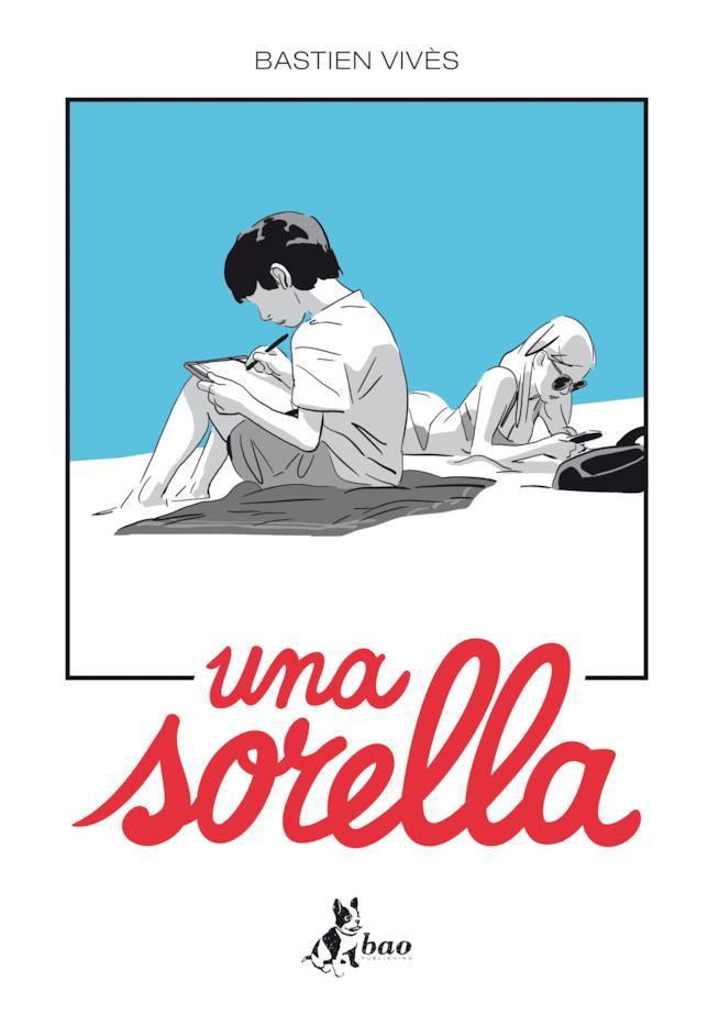 la copertina della graphic novel Una sorella