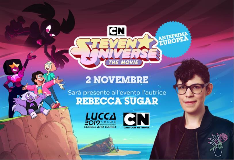 Rebecca e il film di Steven Universe