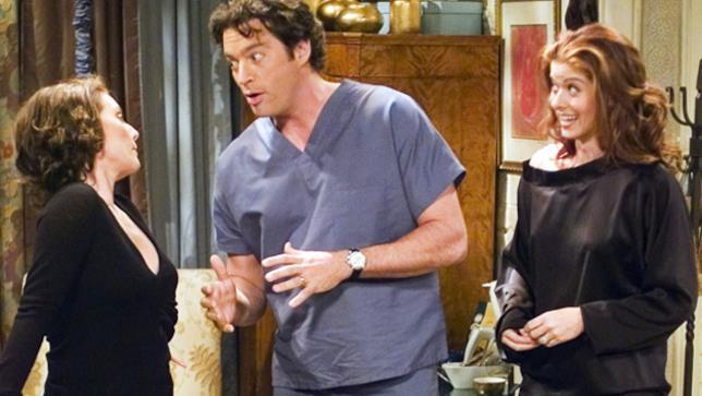 Una scena della serie TV Will & Grace
