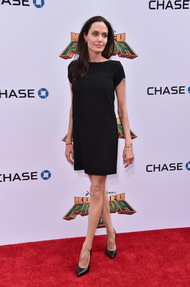 Angelina Jolie sul red carpet per il suo ultimo film