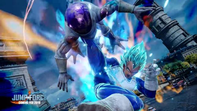 SSJ Blue Vegeta Jump Force