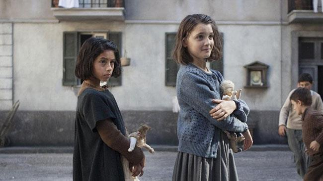 Lila ed Elena con le bambole