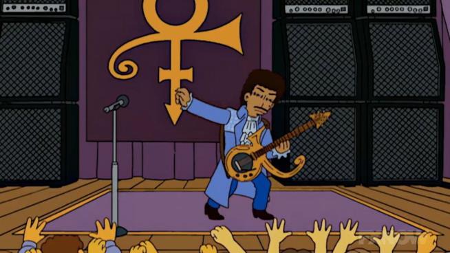 Prince nei Simpson