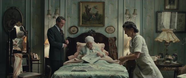 Scena del film diretto da Stephen Frears con i due noti attori protagonisti
