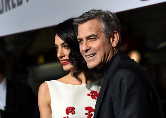 George Clooney e la moglie Amal alla prima di Hail, Caesar!