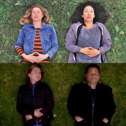 Meredih Alex e Cristina: i momenti sul prato