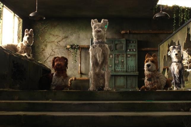 I protagonisti canini di L'isola dei cani