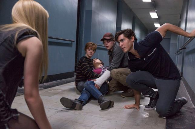I giovani protagonisti di New Mutants tra i meandri della loro prigione