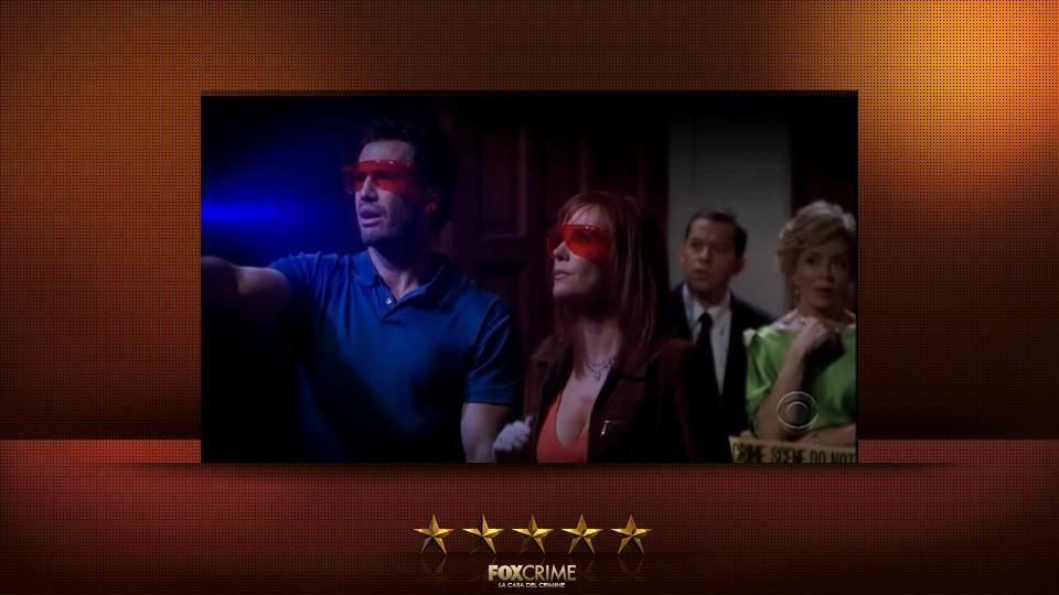 CSI e Due uomini e mezzo – in un episodio il team di CSI si è messo a indagare su un delitto in casa di Charlie.