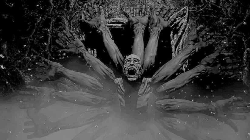 Uno dei terrificanti screenshot di Agony