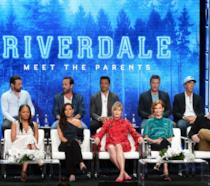 Il cast di Riverdale durante il Winter TCA Tour nel 2017